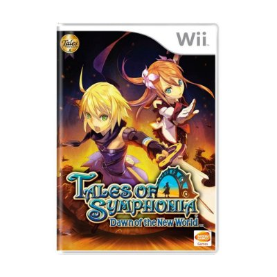 TALES OF SYNPHONIA DAWN OF THE NEW WORLD WII USADO