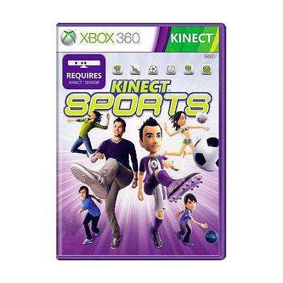 KINECT SPORTS XBOX 360 USADO