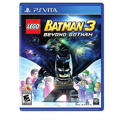 LEGO BATMAN 3 BEYOND GOTHAN PSVITA USADO