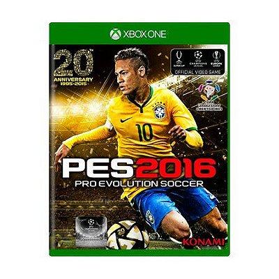 PES 2016 XBOX ONE USADO