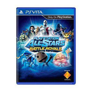 PLAYSTATION ALL-STAR BATTLE ROYALE PSVITA USADO