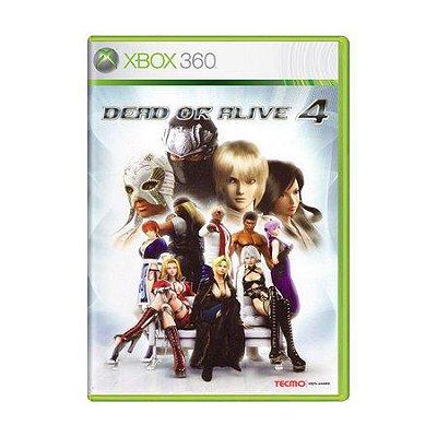 DEAD OR ALIVE 4 XBOX 360 USADO