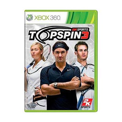 TOP SPIN 3 X360 USADO