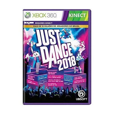 JUST DANCE 2018 XBOX 360 USADO
