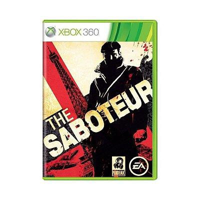 THE SABOTEUR X360 USADO