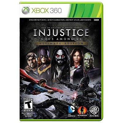 INJUSTICE GODS AMONG US ULTIMATE EDITION XBOX 360 USADO