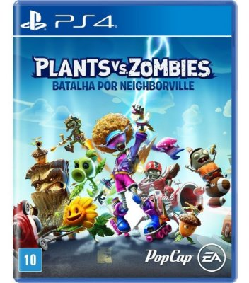 PLANTS VS ZOMBIES: BATALHA POR NEIGHBORVILLE PS4