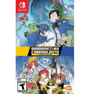 DIGIMON STORY CYBER SLEUTH COMPLETE EDITION SWITCH