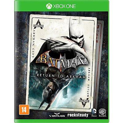 BATMAN RETURN TO ARKHAN XBOX ONE USADO