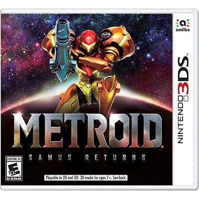 METROID SAMUS RETURNS 3DS USADO