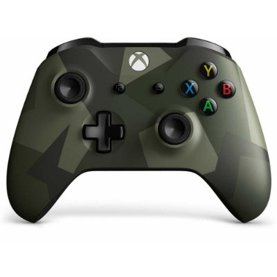 CONTROLE XBOX ONE S CAMUFLADO ARMED FORCES II