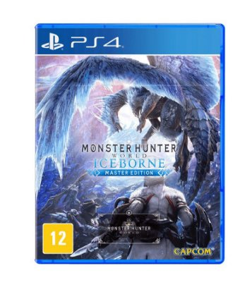 MONSTER HUNTER: ICEBORNE PS4