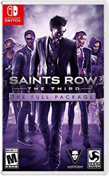 SAINTS ROW THE THIRD THE FULL PACKAGE SWITCH