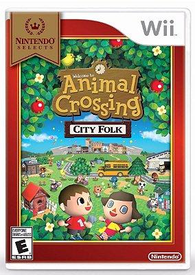 ANIMAL CROSSING: CITY FOLK - WII
