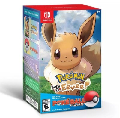 POKEMON LET'S GO EEVEE! POKÉ BALL PLUS EDITION SWITCH
