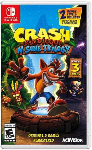 CRASH BANDICOOT N'SANE TRILOGY SWITCH