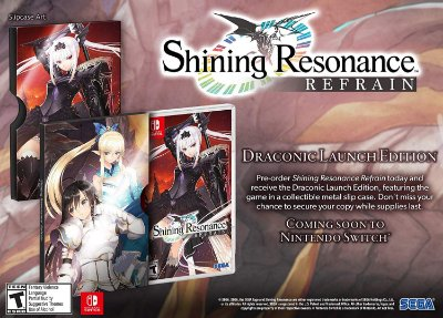 SHINING RESONANCE REFRAIN DRACONIC LAUNCH EDITION - SWITCH