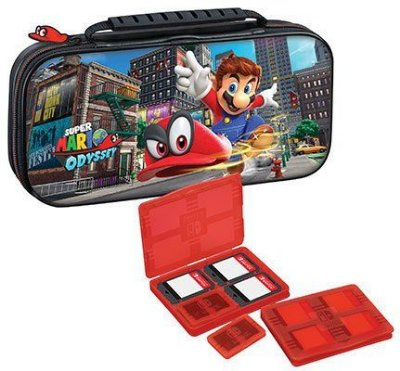 DELUXE TRAVEL CASE SWITCH MARIO ODYSSEY RDS NNS58