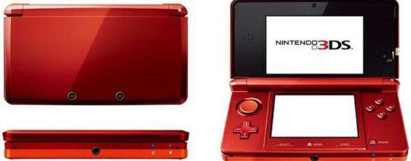 NINTENDO 3DS VERMELHO USADO