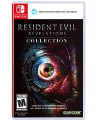 RESIDENT EVIL REVELATIONS SWITCH USADO