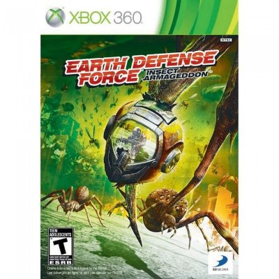 EARTH DEFENSE FORCE X360 USADO