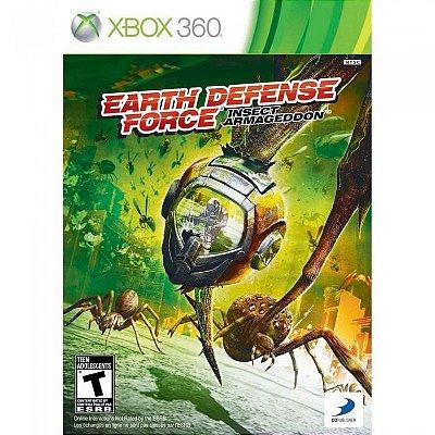 EARTH DEFENSE FORCE X360 USADO