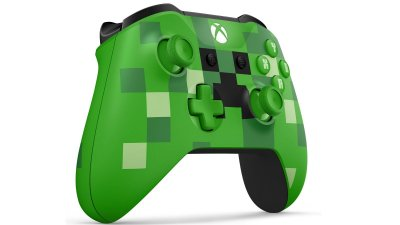 CONTROLE XBOX ONE S CREEPER MINECRAFT