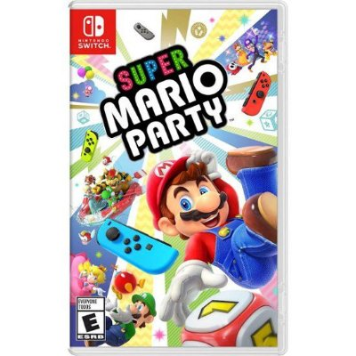 SUPER MARIO PARTY NINTENDO SWITCH USADO