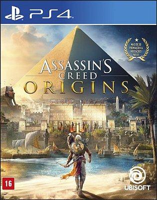 ASSASSINS CREED ORIGINS PS4 USADO