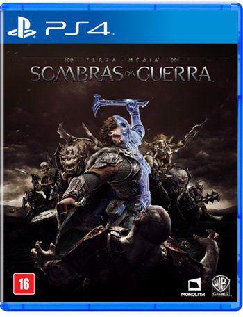 SOMBRAS DA GUERRA PS4 USADO