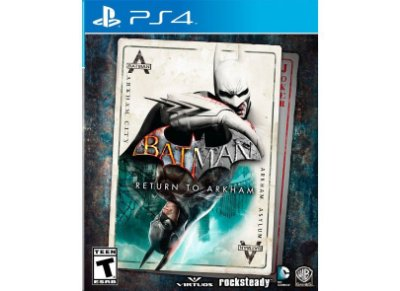 BATMAN RETURN TO ARKHAM PS4 USADO