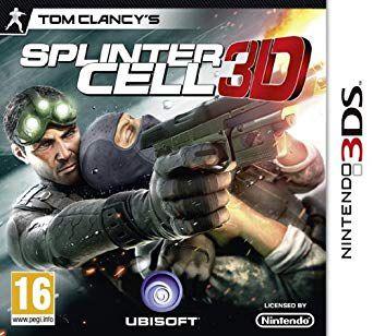TOM CLANCY'S SPLINTER CELL 3DS USADO