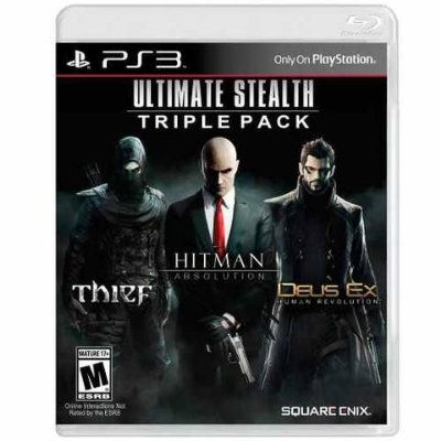 ULTIMATE STEALTH TRIPLE PS3 USADO
