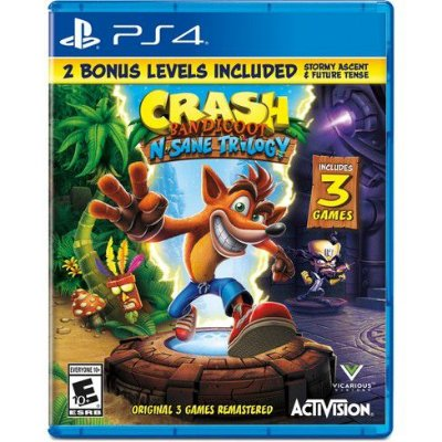 CRASH BANDICOOT N'SANE TRILOGY PS4 USADO