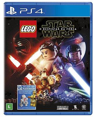 LEGO STAR WARS O DESPERTAR DA FORÇA PS4