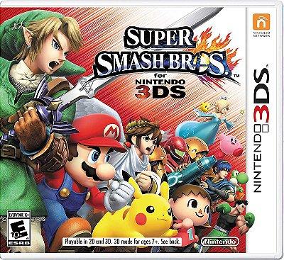 SUPER SMASH BROS 3DS USADO