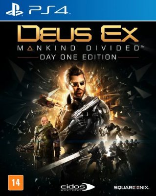 DEUS EX MANKIND DIVIDED PS4 USADO