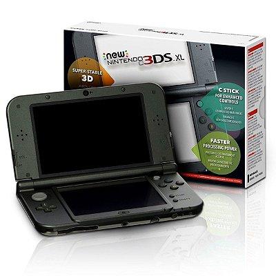 NEW NINTENDO 3DS XL PRETO USADO