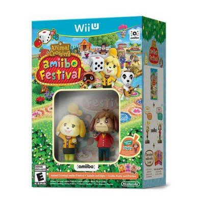 ANIMAL CROSSING AMIIBO FESTIVAL BUNDLE WIIU