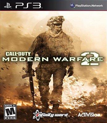CALL OF DUTY MODERN WARFARE 2 PS3 USADO