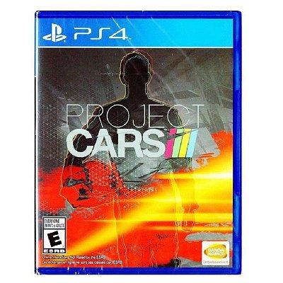 PROJECT CARS PS4 USADO