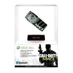HEADSET BLUETOOTH CALL OF DUTY MODERN WARFARE 3 EDITION XBOX 360