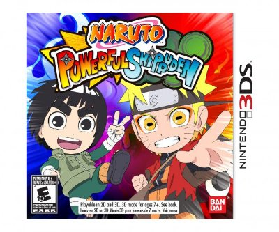 NARUTO POWERFUL SHIPPUDEN 3DS USADO