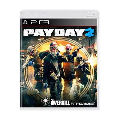 PAYDAY 2 PS3 USADO