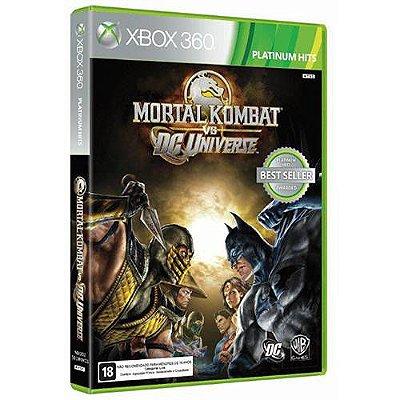 MORTAL KOMBAT VS DC UNIVERSE X360 USADO
