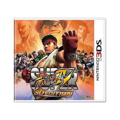 SUPER STREET FIGHTER IV 3DS USADO