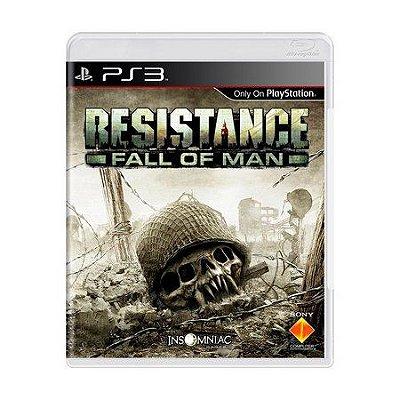 RESISTANCE FALL OF MAN PS3 USADO