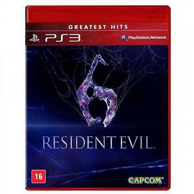 RESIDENT EVIL 6 PS3 USADO
