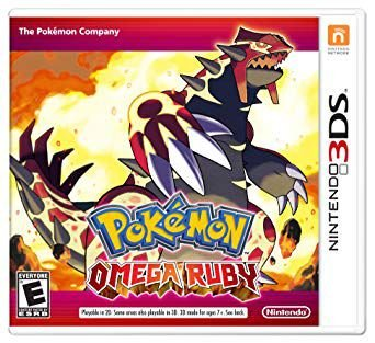 POKEMON OMEGA RUBY 3DS USADO