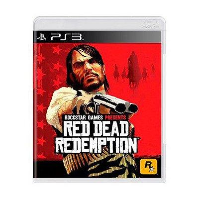 RED DEAD REDEMPTION PS3 USADO